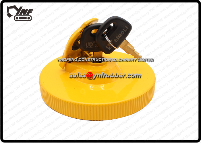 YNF02206 Fuel Cap for DH Deawoo Doosan Excavators Medium Quality