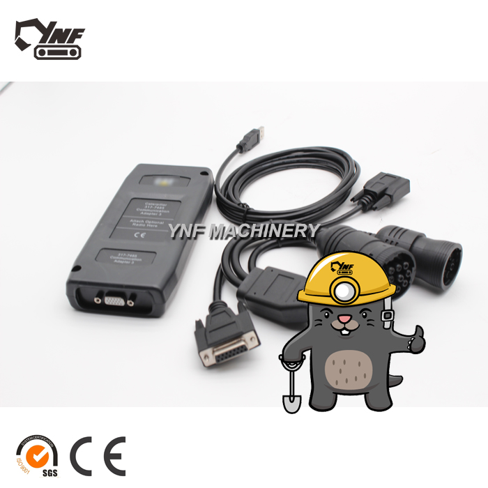ET3 Communication Adapter Group For Excavator Diagnostic Tool 317-7485 275-5121