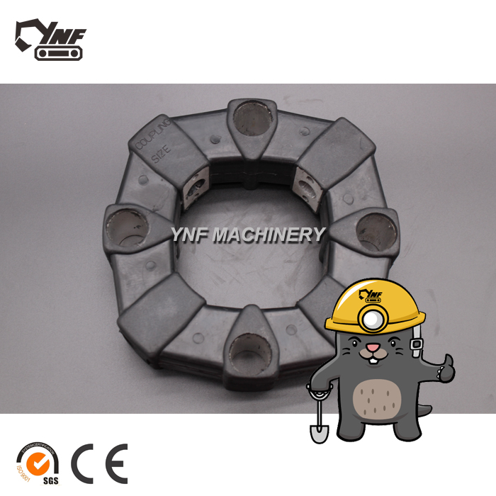 Flexible Rubber Excavator Coupling 4157853 4095325 4101345 3031371 for Hitachi