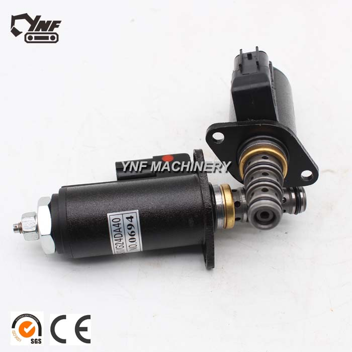 Blue Dot Hydraulic Pump Rotary Solenoid Valve 121-1490 for Cat 320 E320B